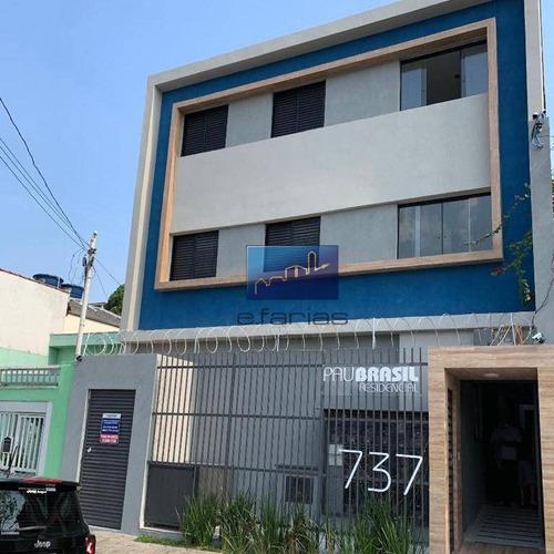 Studio Com 2 Dormitórios À Venda, 38 M² Por R$ 250.000,00 - Jardim Noronha - São Paulo/sp - St0435