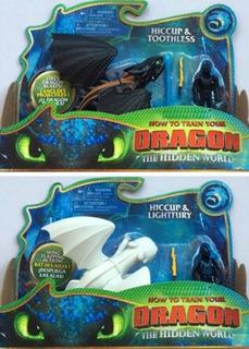 Dragones Chimuelo Furia Luminosa Juguetes Original