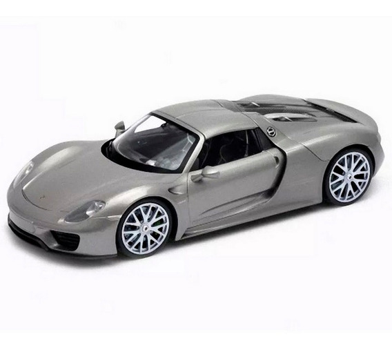 Porsche 918 Spyder Escala 1/24 Welly 373025