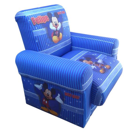 Poltrona Sofazinho Infantil Personalizada Mickey