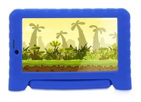 Tablet Infantil Kid Pad Multilaser Ensina Idioma 3g E Foto