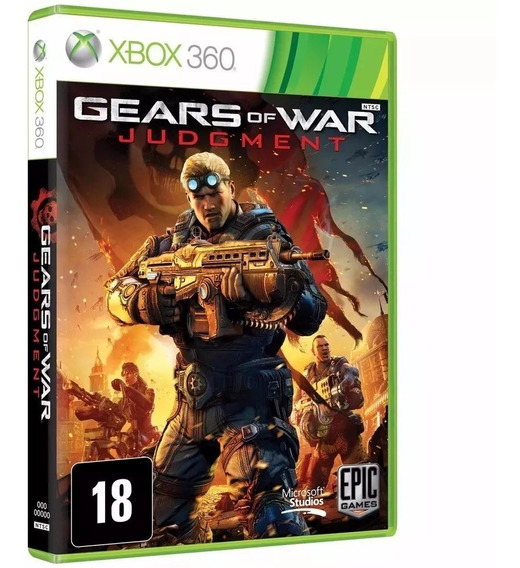 Gears Of War Judgment Xbox 360 E Xbox One Física Português