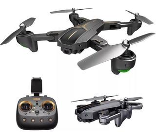 Drone Barato Com Gps Wi-fi Câmera 5mb 3 Baterias Lançamento