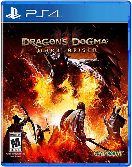 Jogo Dragons Dogma Dark Arisen - Ps4 Mídia Física Usado