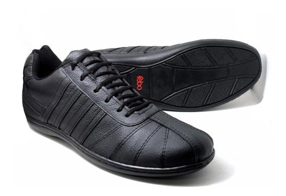 Zapatillas Talles Especiales - Cuero 47-48-49 Suela Febo