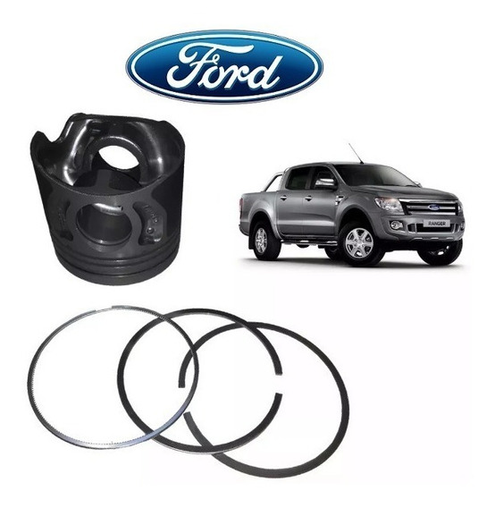 Jogo Pistao Com Aneis Ford Ranger 3.2 5c 20v Diesel Med 050