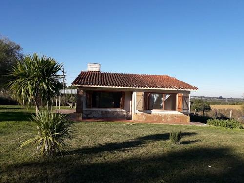 Vendo Casa Con Campo 2 Has 314 Mts.