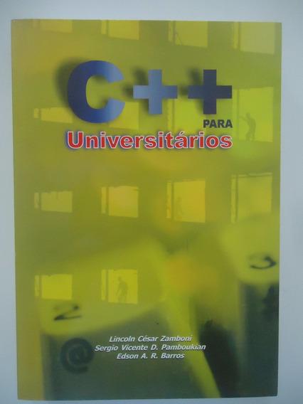 C++ Para Universitários - Lincoln Zamboni - Sérgio Pamboukia