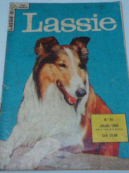 Lassie Nº 51 De 1960 Gibi Raro Antigo Ebal Ótimo