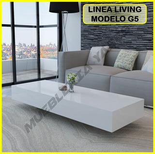 Mesa Centro Moderna Juego Mueble Sala Sofa Recibo G5 (108v)