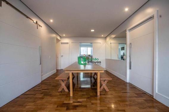 Apartamento Com 3 Dormitórios À Venda, 105 M² Por R$ 950.000 - Perdizes - São Paulo/sp - Ap1283