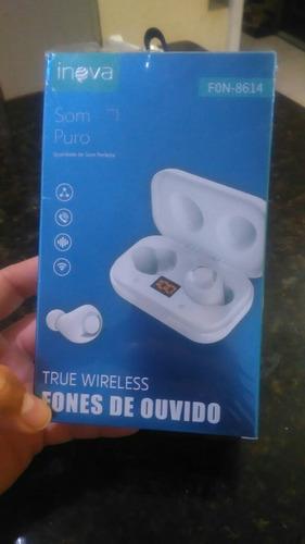 Imagem 1 de 1 de Fone De Ouvido Bluetooth Inova Som Puro, Excelente Som