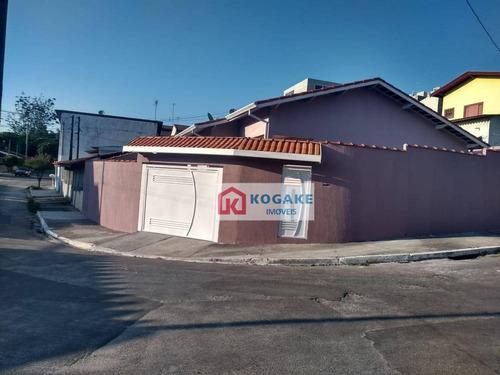 Casa Com 3 Dormitórios À Venda, 94 M² Por R$ 340.000,00 - Cidade Morumbi - São José Dos Campos/sp - Ca2787
