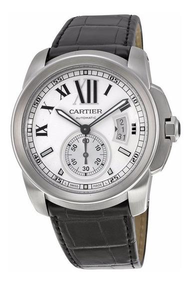 Reloj Cartier Calibre Automático Piel Negra W7100037