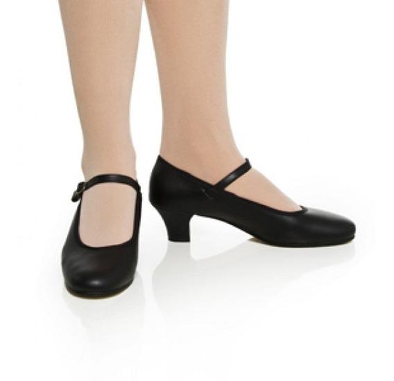 Sapato Dança Salão Ref. 30n Salto Fino 4cm Capezio