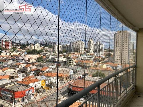 Apartamento Com 4 Dormitórios À Venda, 126 M² Por R$ 1.020.000,01 - Vila Romana - São Paulo/sp - Ap3341