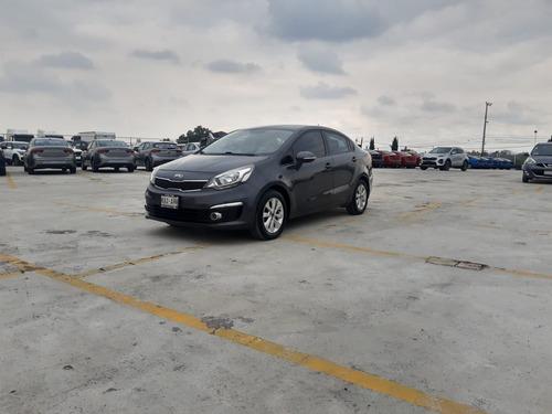 Imagen 1 de 11 de Kia Rio 2017 1.6 Sedan Ex Mt