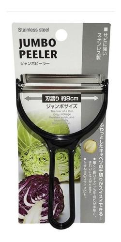 Fatiador Japonês Legumes Jumbo Peeler - Cor Preto