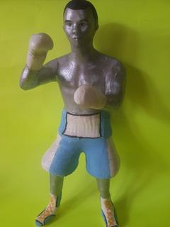 Muñeco Boxeador Argentino Hecho En 3d