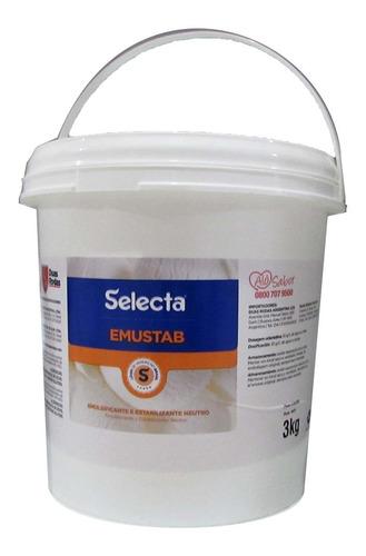 Emulsificante Emustab Selecta 3kg Duas Rodas