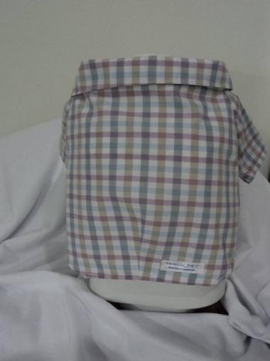 Camisa Xadrez Lilás