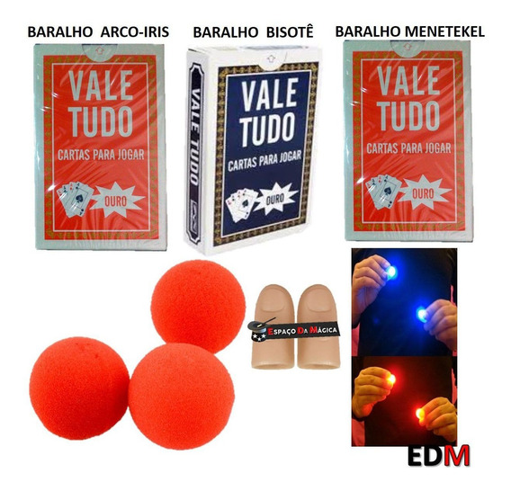 Kit Magica Baralhos Bicycle Cartas Wow Ling Fu Truques