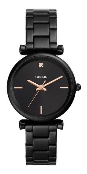 Relógio Feminino Fossil Carlie Preto - Original