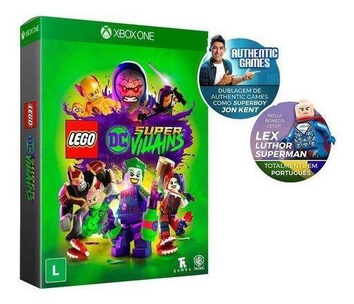 Lego Dc Super Villains Edição Limitada - Xbox One - Lacrado