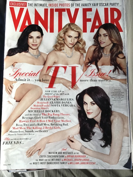 Vanity Fair May 2012 Special Tv Issue
