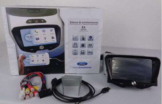 Central Multimídia Ford Ka 2015 Para Veículos Sem Sync