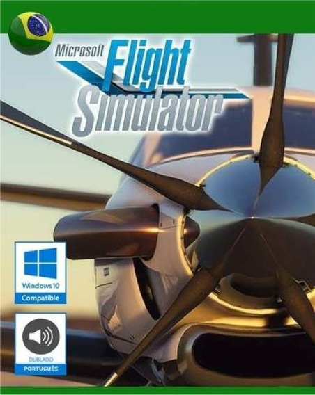 Flight Simulador De Vôo Fsx Completo Em Português + 2019