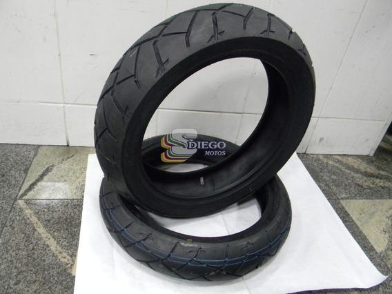 Pneu Dunlop (par) 120x70r17/ 160x60z17 Trailmax D 609