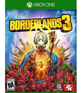 Borderlands 3 Xbox One + Paquete Gold Weapon Skins Nuevo