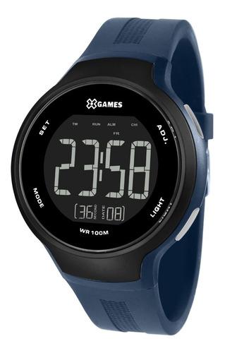 Relógio X-games Masculino Digital Xmppd555 Pxdx Azul