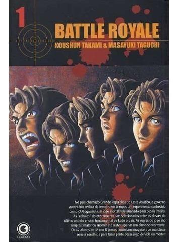 Mangá Battle Royale #1 - Conrad