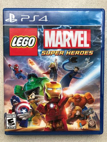 Lego Marvel Super Heroes Ps4 Fisico
