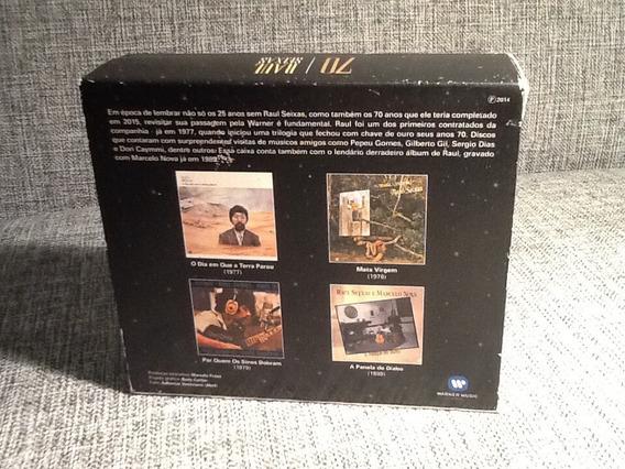 Cd Raul Seixas - 70 Box Com 4 Cds *raro *