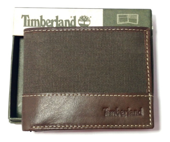 Carteira Masculina Timberland Passcase Wallet Marrom
