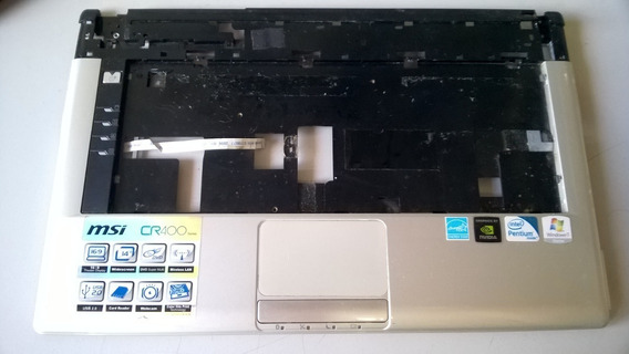 Palmrest Base Teclado Notebook Msi Cr400 - Semi-nova