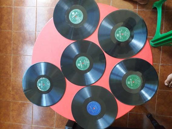 Lps Discos De Vinil 78 Rpm- Bolero, Tango, Cha Cha Cha