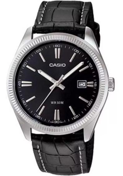 Relógio Casio - Mtp-1302l-1avdf - Leather Strap -promoção