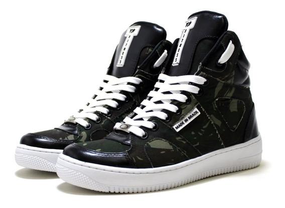Tenis Botinhas Sneakers Topfitness Crossfit Muaythay Confort