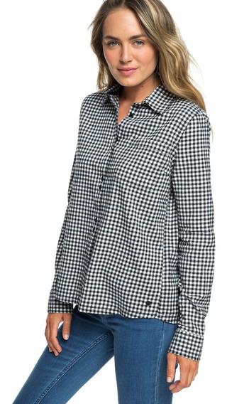 Roxy Camisa Concrete Street Check (xwrb)