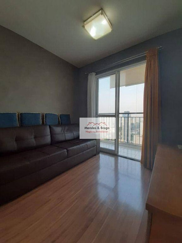Imagem 1 de 25 de Apartamento Com 2 Dormitórios À Venda, 53 M² Por R$ 310.000,00 - Centro - Guarulhos/sp - Ap2481