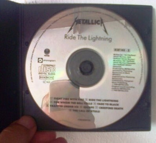 Metallica Ride The Ligthing - Cd De Audio