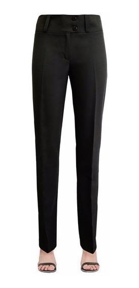 Pantalon De Vestir Elastizada Para Dama (p-02)