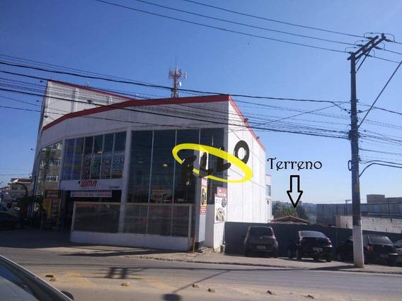 Terreno Para Alugar, Ao Lado Da Wma, 380 M² Por R$ 3.000/mês - Jardim Nomura - Cotia/sp - Te0830