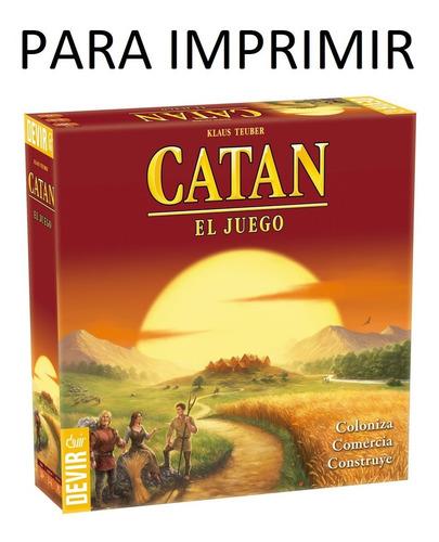 Imagen 1 de 5 de Catan + Expansiones (para Imprimir)