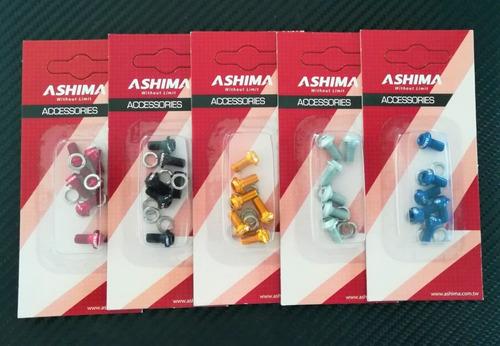 Ashima Set De Tornillos De Aluminio Para Rotor