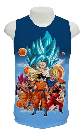 Camiseta Anime Dragon Ball Super - 03 - Regata
